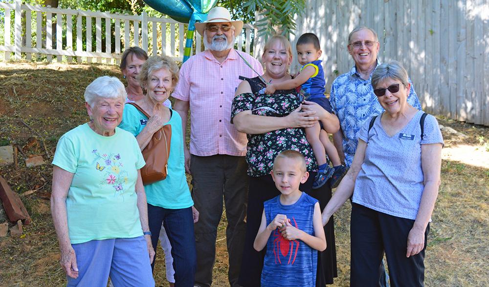 Nevada County Habitat Volunteer, Barbara Dean