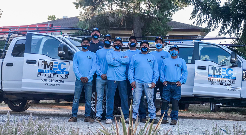 MEC Builds Partners with Habitat to Keep the Rain Out